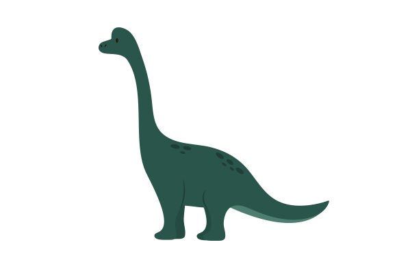 Brachiosaurus Dinosaurs Craft Cut File By Creative Fabrica Crafts