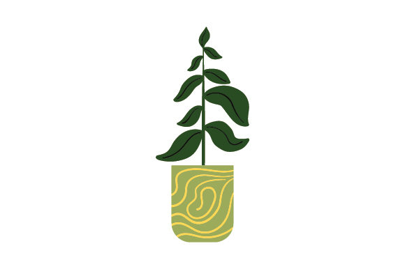 Download Free Potted Plant Svg Cut File By Creative Fabrica Crafts Creative Fabrica for Cricut Explore, Silhouette and other cutting machines.