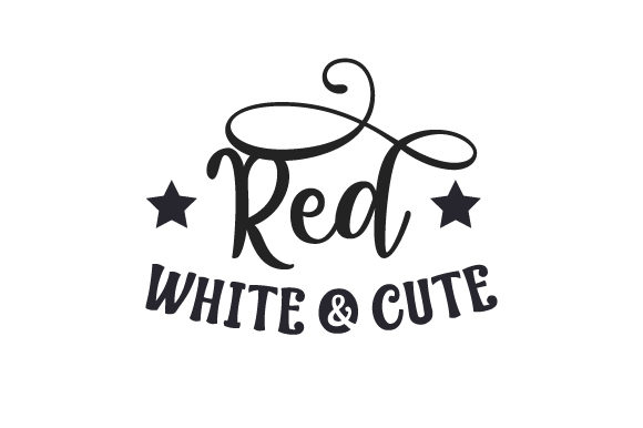 Download Free Red White Cute Svg Cut File By Creative Fabrica Crafts SVG Cut Files