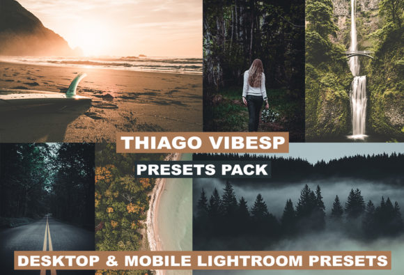 Download Free Bundle All Desktop Mobile Lightroom Presets Graphic By Thiago for Cricut Explore, Silhouette and other cutting machines.