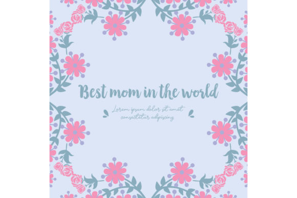 Download Free Antique Frame For Best Mom In The World Graphic By Stockfloral for Cricut Explore, Silhouette and other cutting machines.