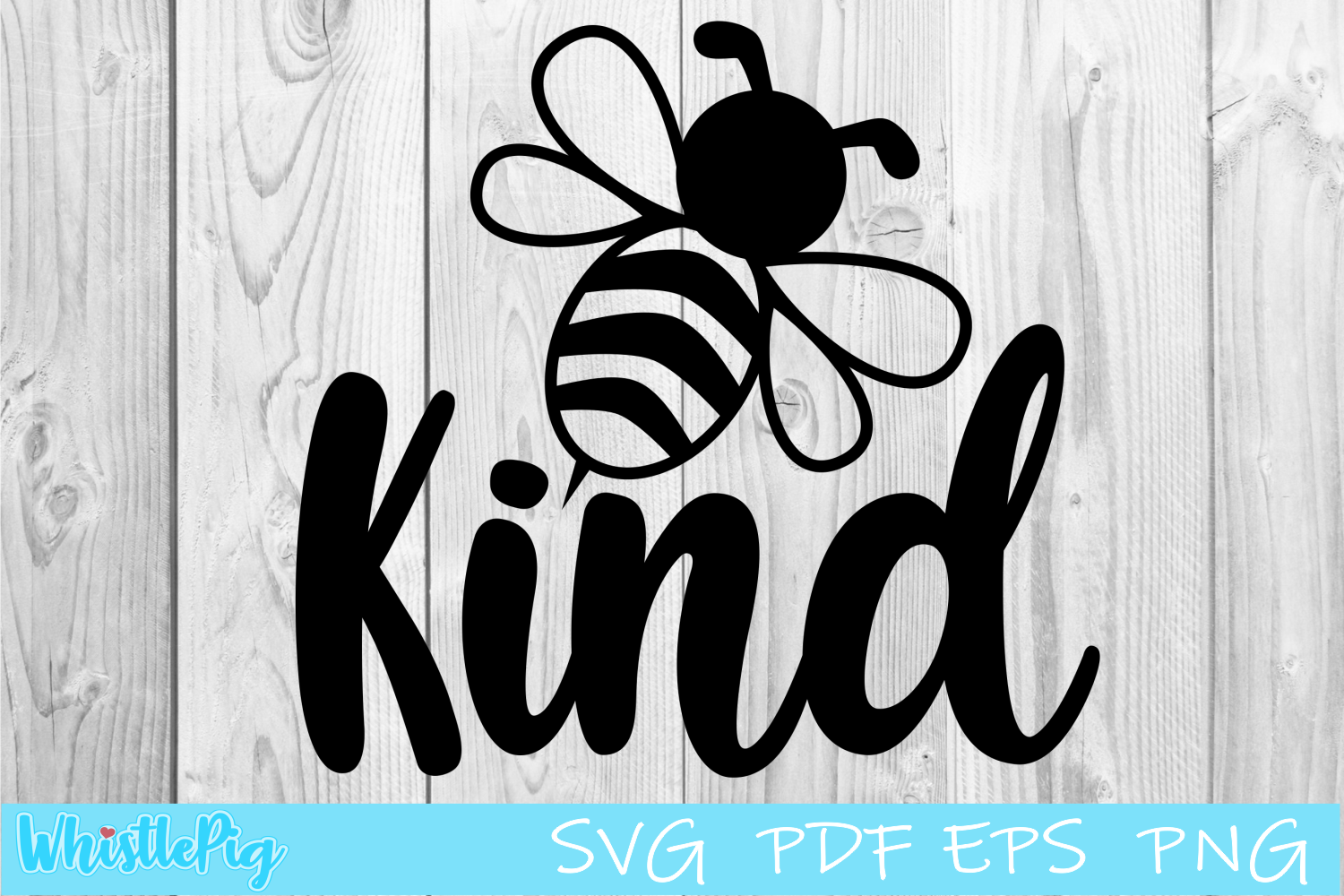Download Free Be Kind Bee Graphic By Whistlepig Designs Creative Fabrica for Cricut Explore, Silhouette and other cutting machines.