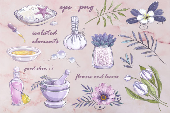 Download Free Beauty Care Graphic By Maycat Creative Fabrica for Cricut Explore, Silhouette and other cutting machines.