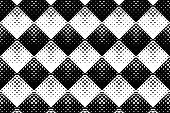 Download Free Black And White Circle Pattern Graphic By Davidzydd Creative for Cricut Explore, Silhouette and other cutting machines.