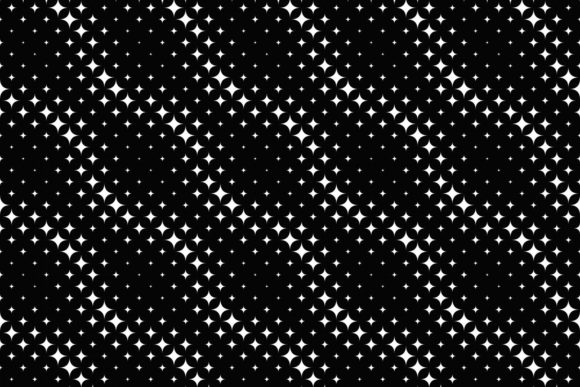Download Free Black And White Star Pattern Design Graphic By Davidzydd for Cricut Explore, Silhouette and other cutting machines.