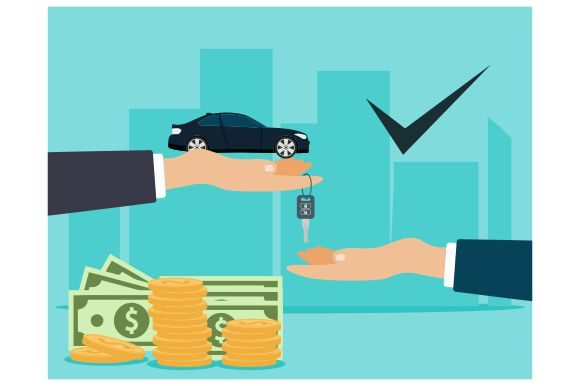 Car Sale And Car Buying Flat Design Graphic By Redvy Creative