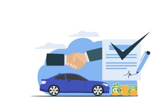 Download Free Car Seller Deals Buying And Sale Flat Graphic By Redvy Creative for Cricut Explore, Silhouette and other cutting machines.