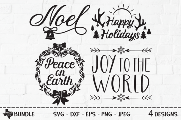Print on Demand: Christmas Bundle - Christmas Designs Graphic Crafts By texassoutherncuts