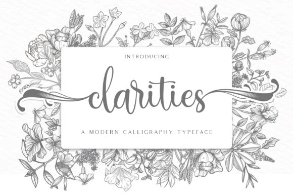 Print on Demand: Clarities Script & Handwritten Font By RochArt