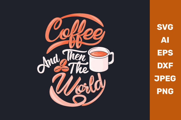 Coffee Quote Graphic Crafts By manglayang.studio