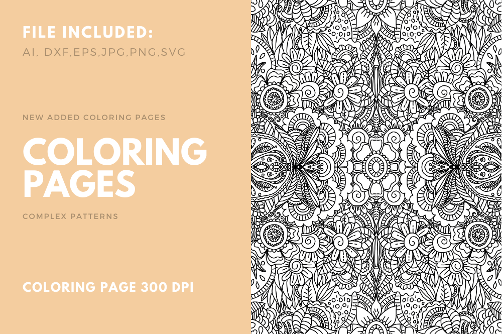 Download Free Coloring Book Cool Page For Pod 02 Graphic By Stanosh Creative for Cricut Explore, Silhouette and other cutting machines.