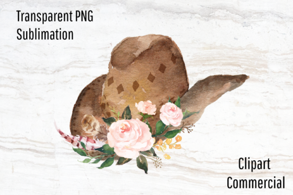 Download Free Cowboy Hat Boho Clipart Graphic By Blueberry Jam Design for Cricut Explore, Silhouette and other cutting machines.