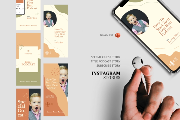 Download Free Creative Podcast Ig Stories Post Ppt Graphic By Rivatxfz for Cricut Explore, Silhouette and other cutting machines.