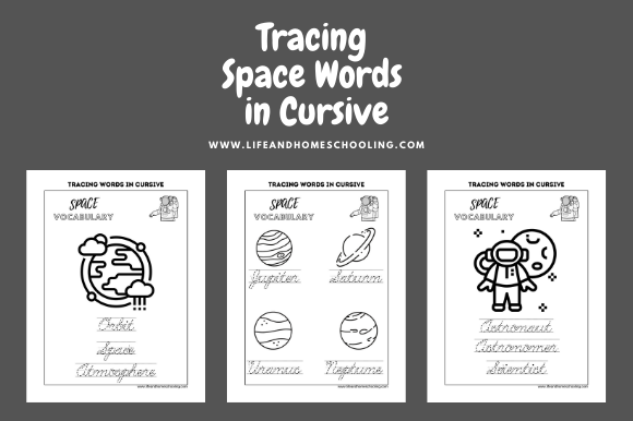 Download Free Cursive Handwriting Practice Graphic By Lifeandhomeschooling for Cricut Explore, Silhouette and other cutting machines.