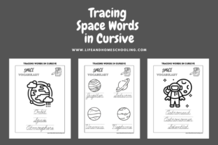 Cursive Handwriting Practice Graphic 4th grade By lifeandhomeschooling