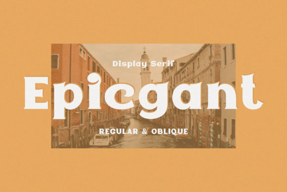Print on Demand: Epicgant Display Font By Viaction Type.Co
