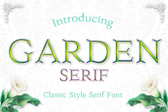 Download Free Mermaid Serif Font By Numnim Creative Fabrica for Cricut Explore, Silhouette and other cutting machines.