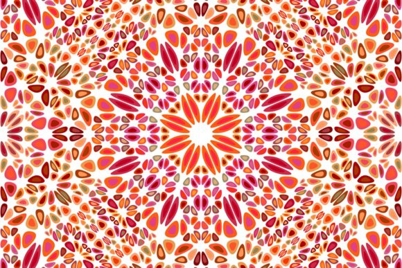 Download Free Geometrical Mandala Ornament Pattern Art Graphic By Davidzydd for Cricut Explore, Silhouette and other cutting machines.