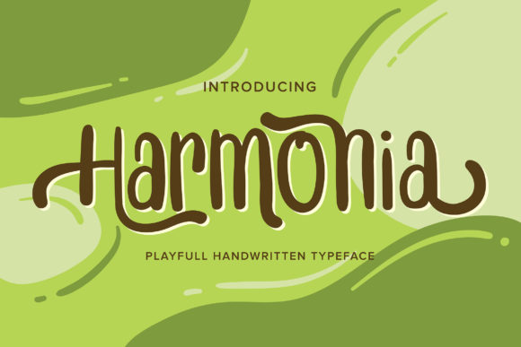 Print on Demand: Harmonia Script & Handwritten Font By Vunira