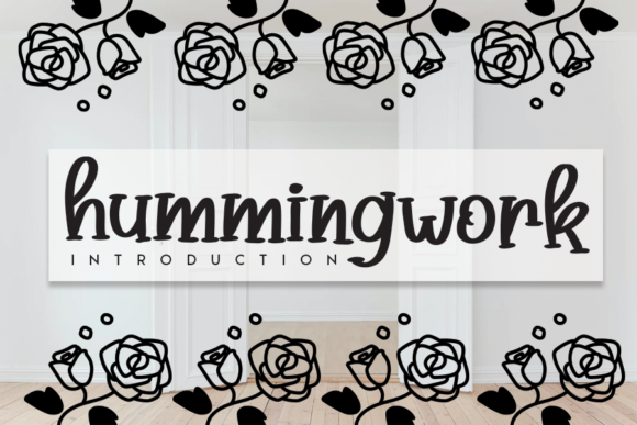 Print on Demand: Hummingwork Script & Handwritten Font By andikastudio