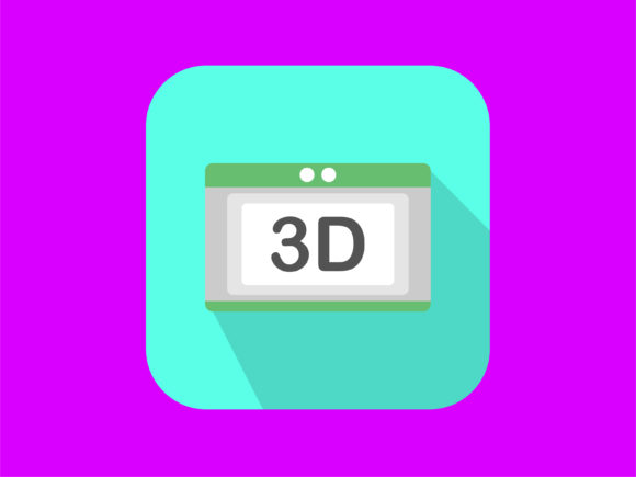 Download Free Icon 3d Film Modern Graphic By Meandmydate Creative Fabrica for Cricut Explore, Silhouette and other cutting machines.