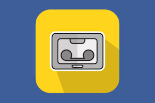 Print on Demand: Icon Cassette Tape New Graphic Icons By sailingshipstudio