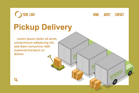 Download Free Isometric Car Box Parking Delivery Graphic By Ninik Studio for Cricut Explore, Silhouette and other cutting machines.
