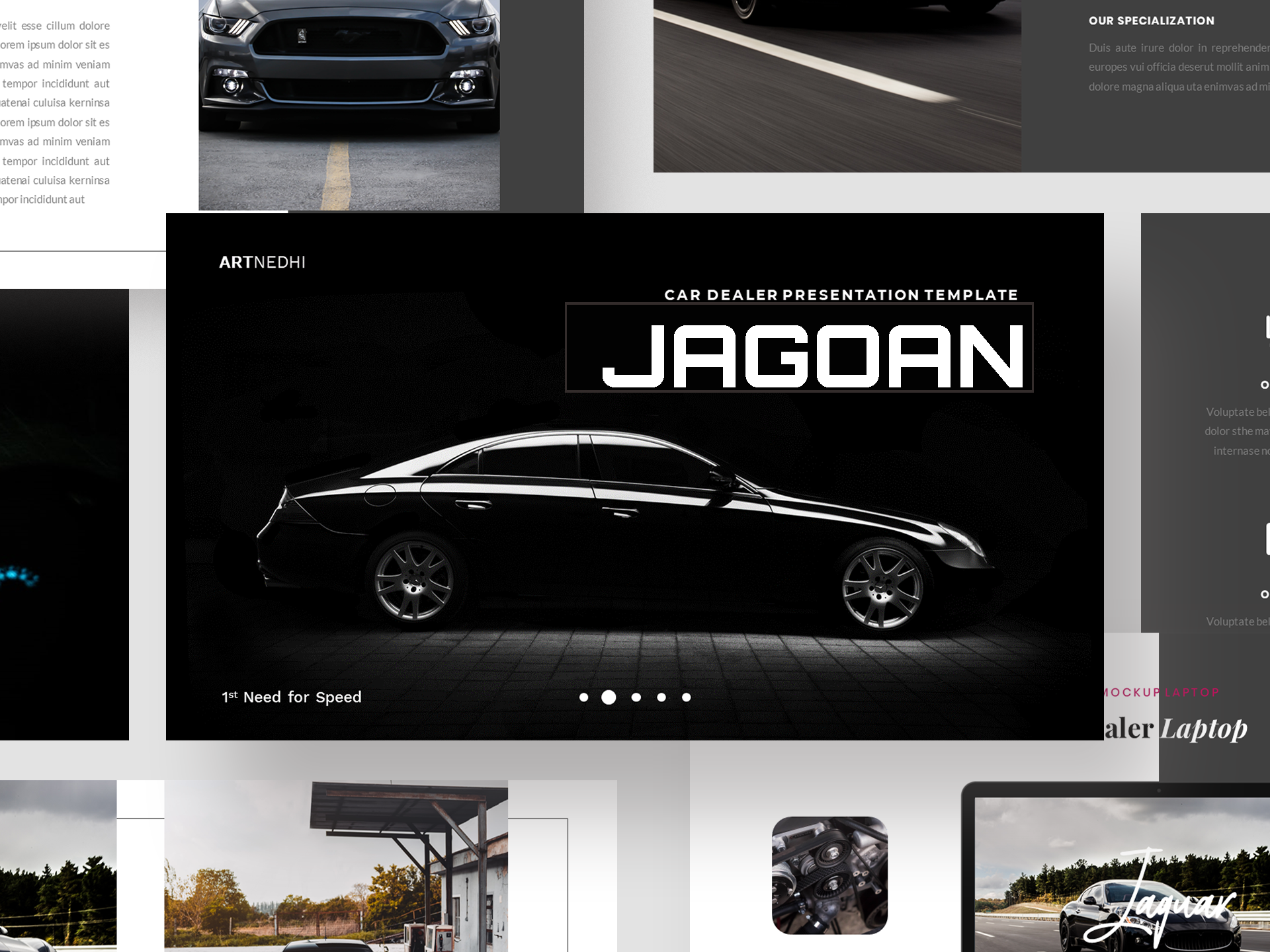 Download Free Jagoan Car Dealer Presentation Template Graphic By Jk Creative for Cricut Explore, Silhouette and other cutting machines.