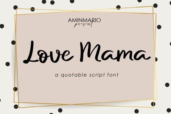 Download Free Alesana Font By Aminmario Creative Fabrica for Cricut Explore, Silhouette and other cutting machines.