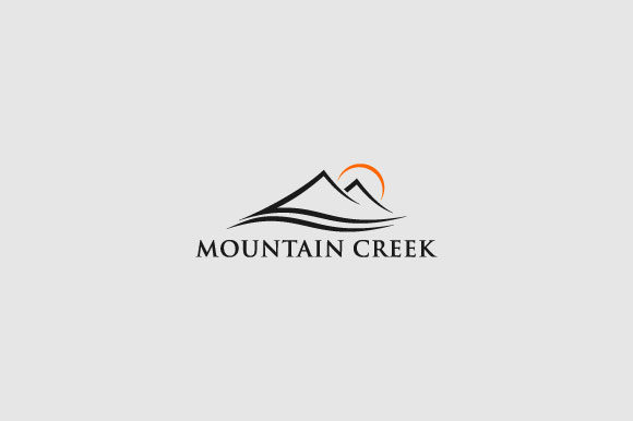 Download Free Montain Creek Logo Design Illustration Graphic By Burhan Bn006 Creative Fabrica for Cricut Explore, Silhouette and other cutting machines.