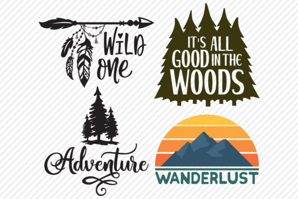 Print on Demand: Outdoors Super Bundle - Designs Graphic Crafts By texassoutherncuts - Image 2