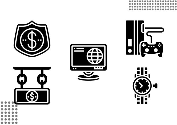 Download Free Pawnshop Fill Graphic By Cool Coolpkm3 Creative Fabrica for Cricut Explore, Silhouette and other cutting machines.
