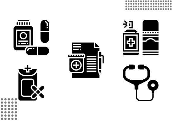 Pharmacy Fill Graphic Icons By cool.coolpkm3