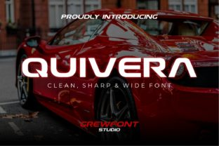 Download Free Quivera Font By Grewfont Studio Creative Fabrica for Cricut Explore, Silhouette and other cutting machines.