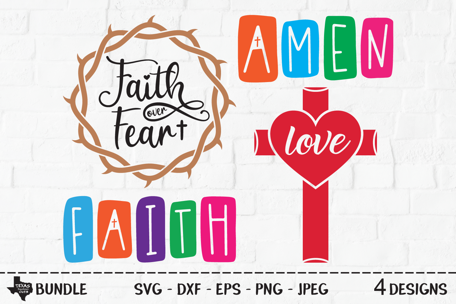 Download Free Religious Bundle Christian Designs Graphic By SVG Cut Files