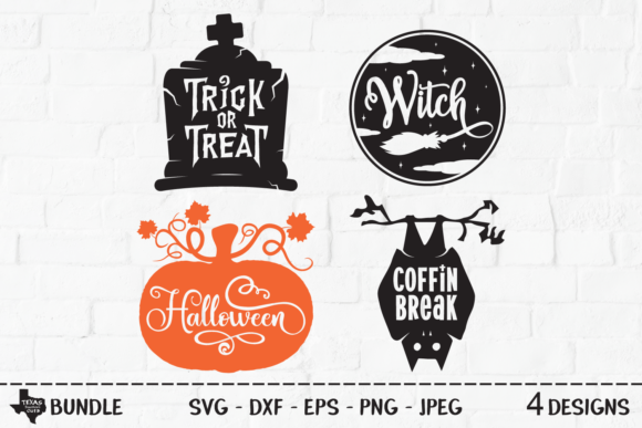 Print on Demand: Spooky Halloween Bundle Graphic Crafts By texassoutherncuts
