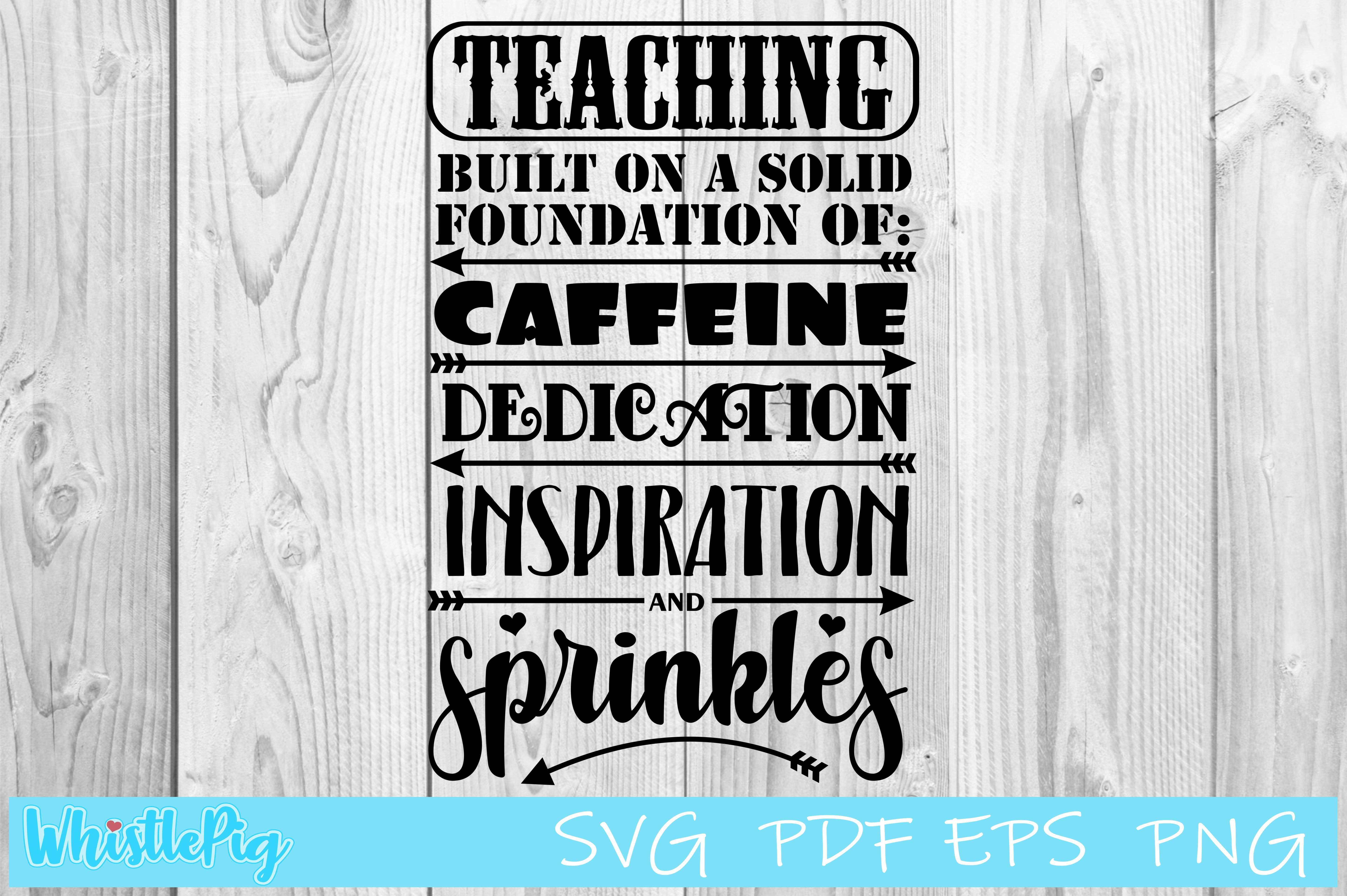 Download Free Teaching Funny Teacher Graphic By Whistlepig Designs Creative for Cricut Explore, Silhouette and other cutting machines.