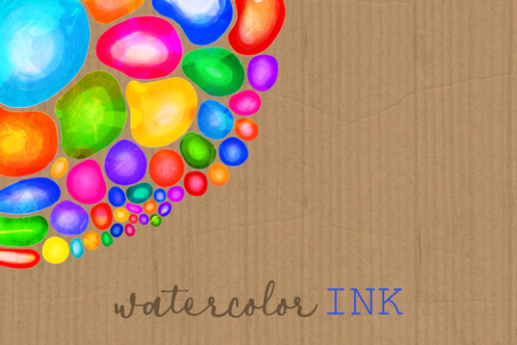 Print on Demand: Watercolor Ink Decorative Doodle Borders Graphic Crafts By Prawny - Image 2