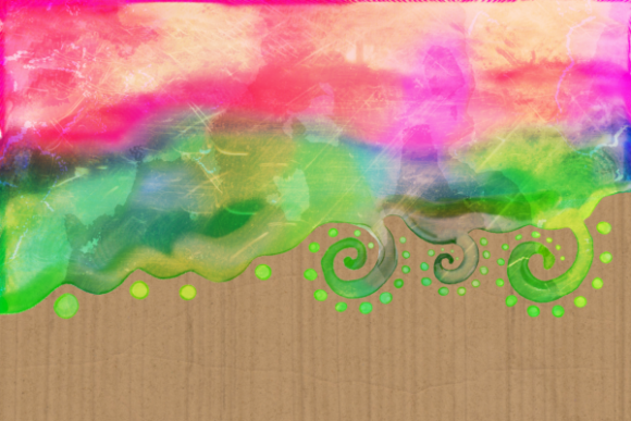 Print on Demand: Watercolor Ink Decorative Doodle Borders Graphic Crafts By Prawny - Image 7