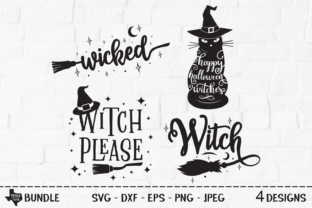 Print on Demand: Wicked Witch Bundle Graphic Crafts By texassoutherncuts