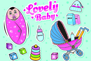 Baby Clipart Icon Doodle Set Graphic Illustrations By ABs