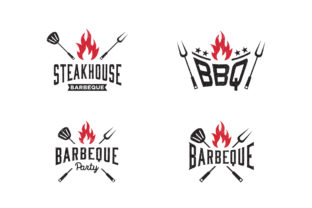 Barbeque Logo Design Template Graphic Logos By syaefulans