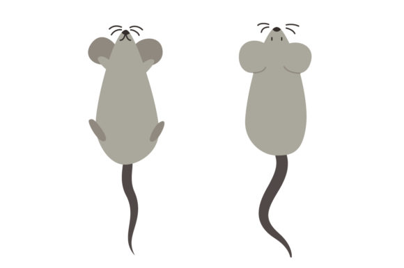 Download Free Cute Mouse Vector Illustration Graphic By Sasongkoanis for Cricut Explore, Silhouette and other cutting machines.