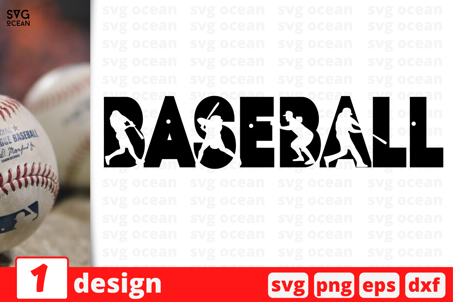 Download Free Baseball Graphic By Svgocean Creative Fabrica for Cricut Explore, Silhouette and other cutting machines.