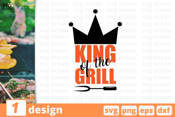 Download Free Kind Of The Grill Graphic By Svgocean Creative Fabrica SVG Cut Files