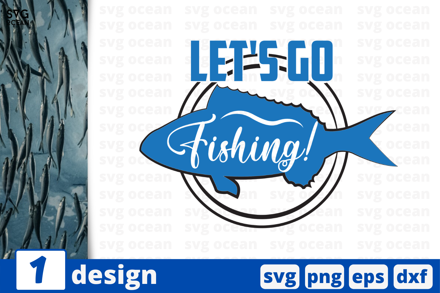 Let S Go Fishing Graphic By Svgocean Creative Fabrica