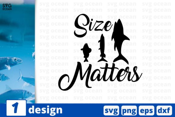 Print on Demand: Size Matters Graphic Print Templates By SvgOcean
