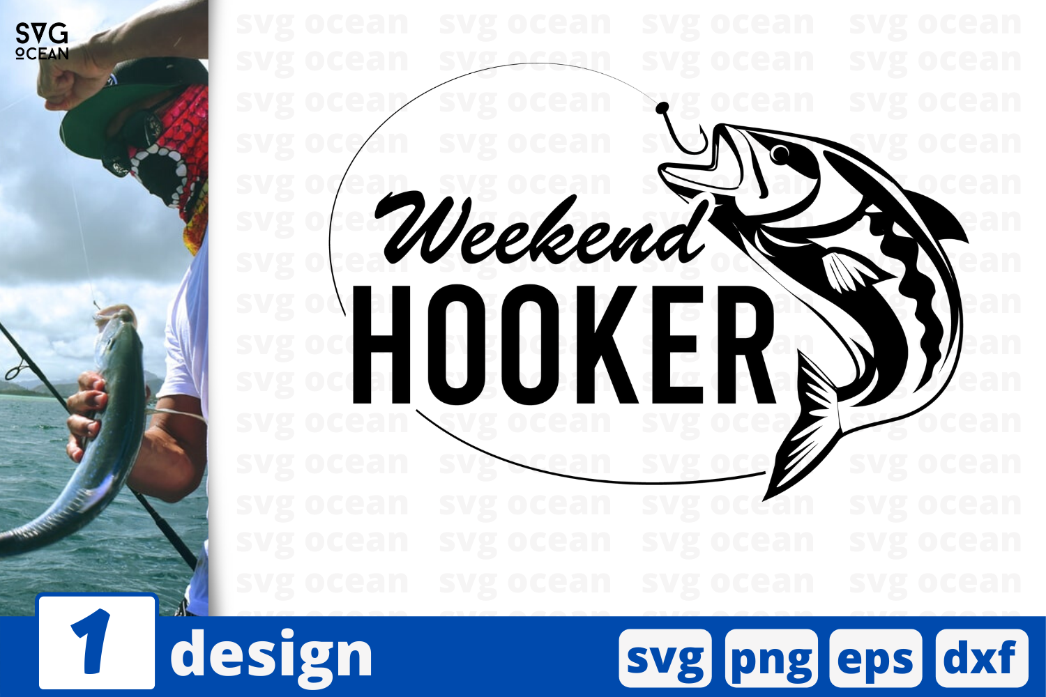 Download Free Weekend Hooker Graphic By Svgocean Creative Fabrica for Cricut Explore, Silhouette and other cutting machines.