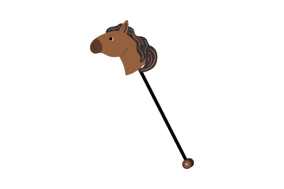 Hobby Horse Kids Craft Cut File By Creative Fabrica Crafts
