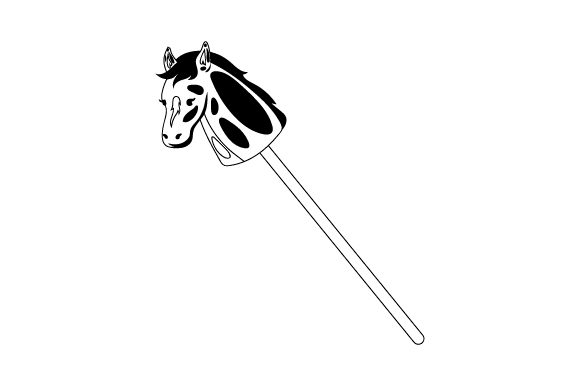 Hobby Horse Kids Craft Cut File By Creative Fabrica Crafts - Image 2